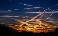 Flugbewegungen über Nisterau